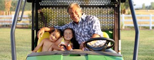 Pastor Wayne and his grandkids